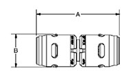 Reducing Couplings - Dimensions