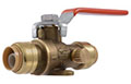 Ball Valves with Drain and Mounting Bracket